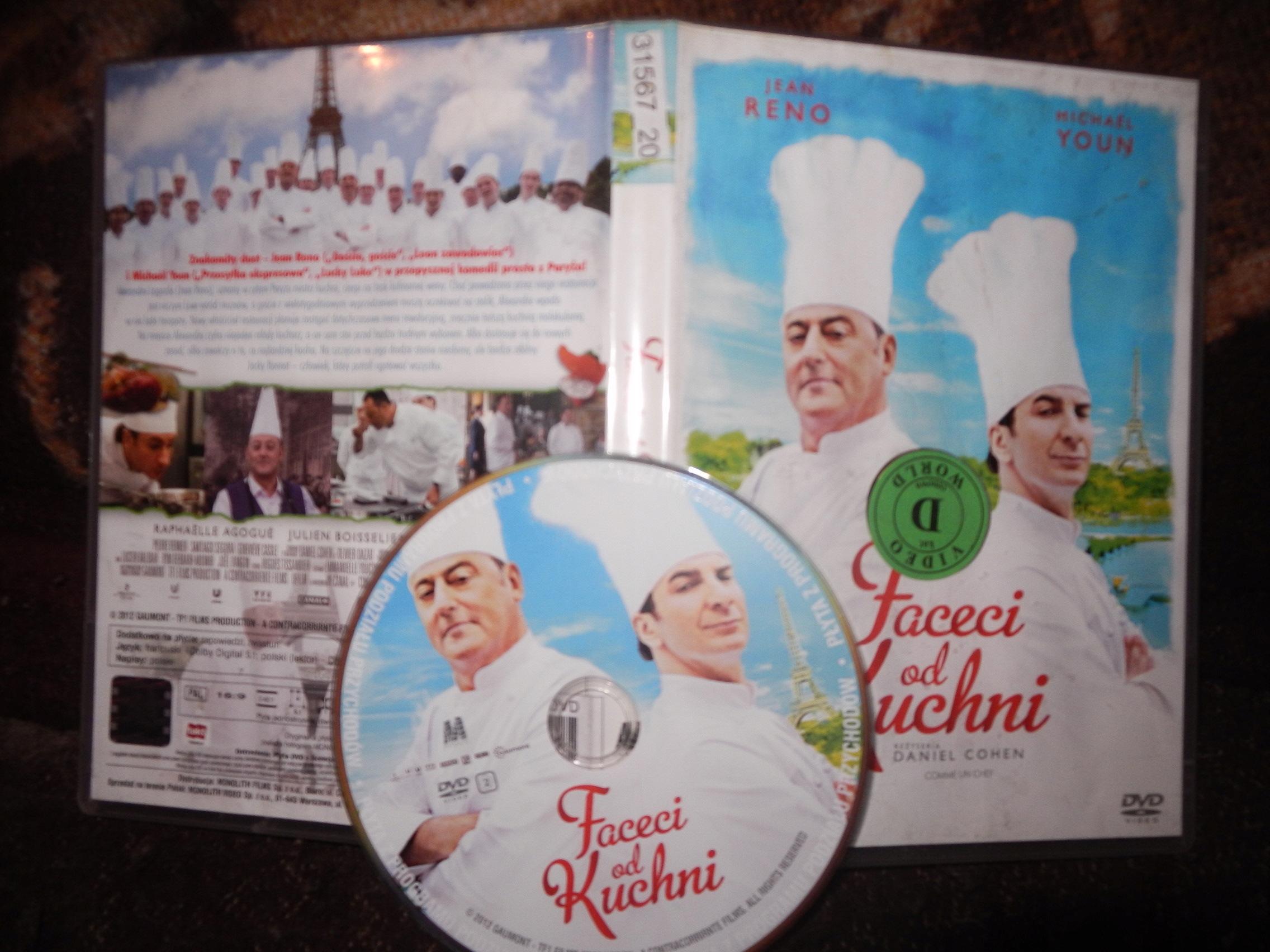 Wyprzedażfilm Dvdjfaceci Od Kuchni 7817083216