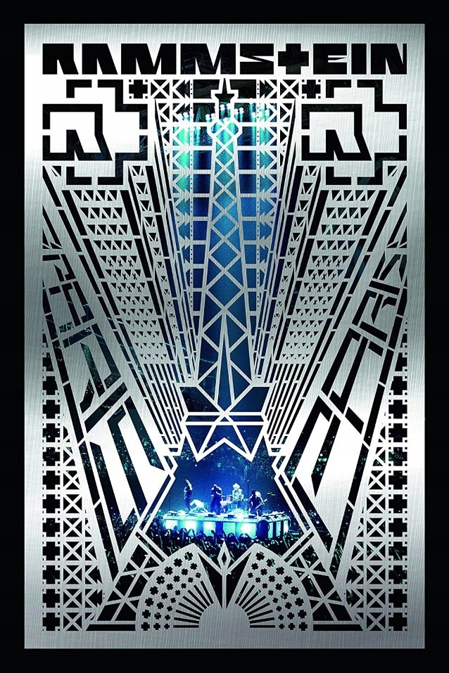 RAMMSTEIN Paris ORYGINALNE NOWE DVD FOLIA 2017 24h
