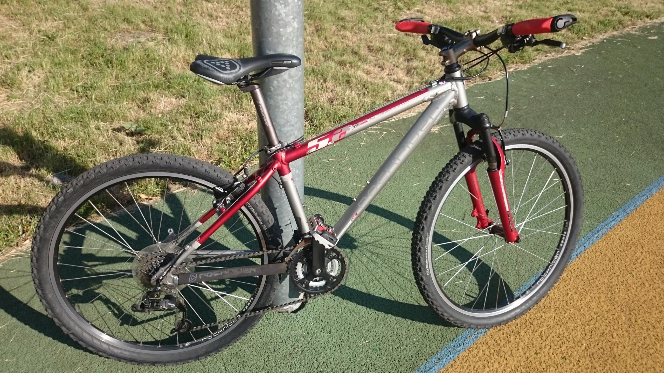 rower ROCKRIDER 5.2 koła26 S (GIANT MERIDA KROSS )