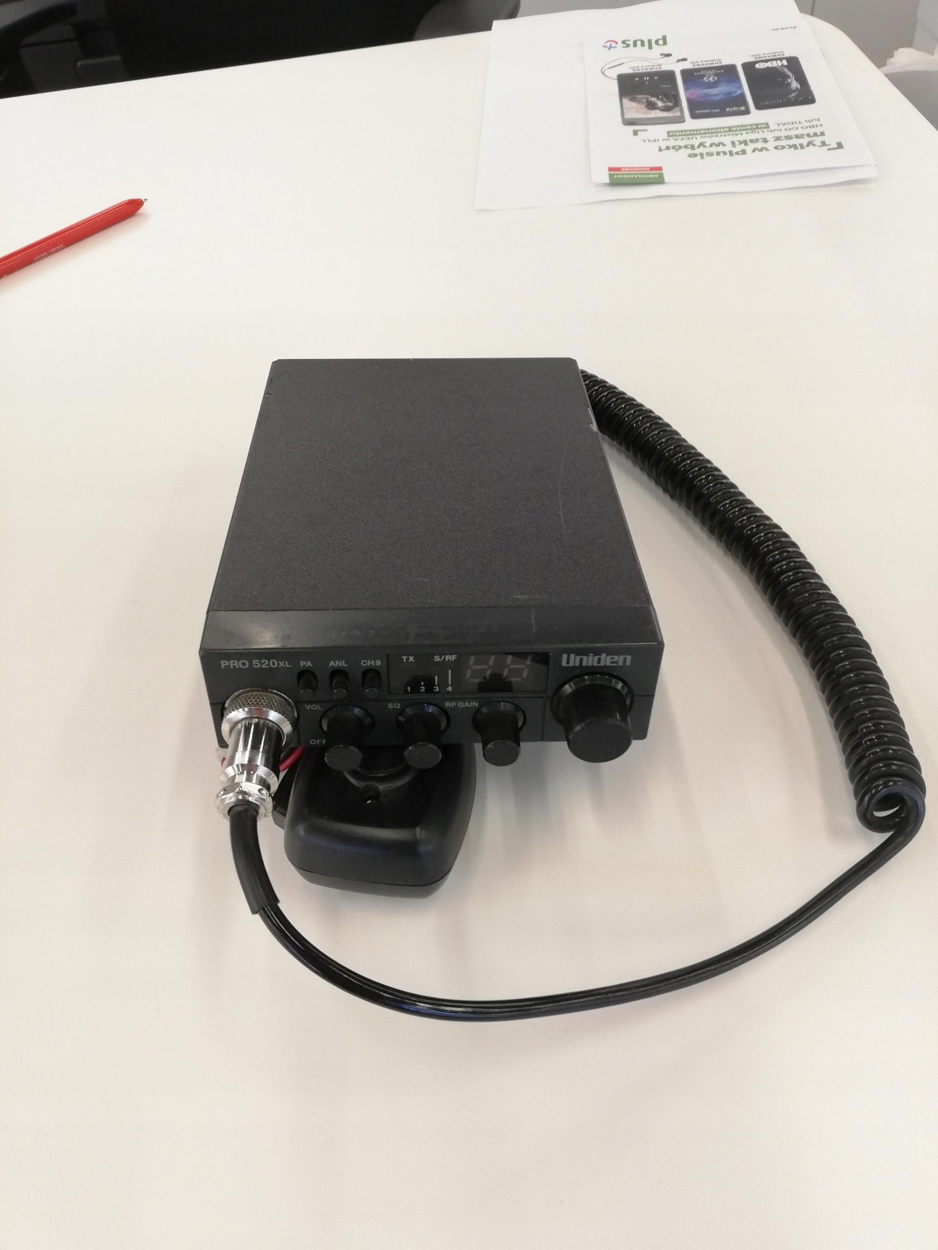 CB Radio Uniden 520 XL