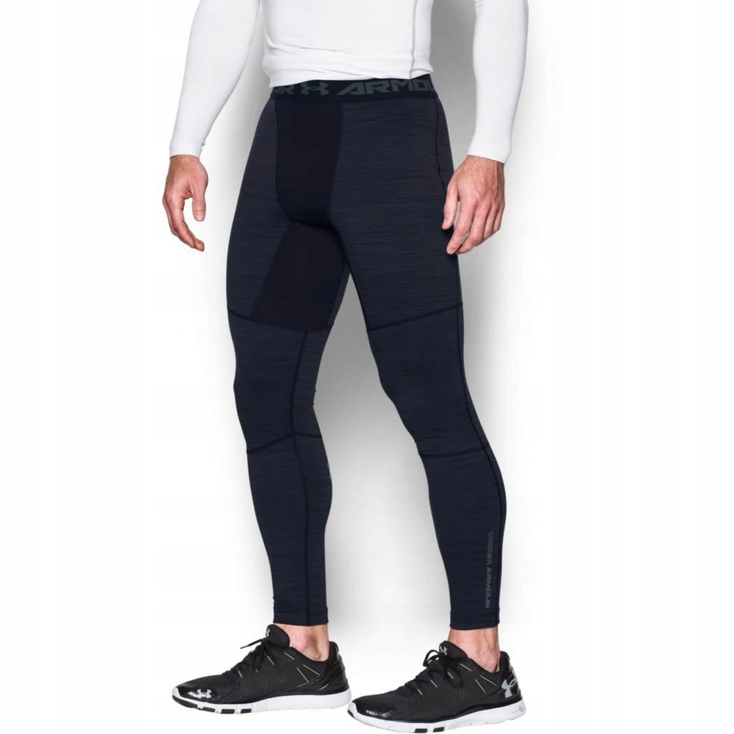 Najnowsza Całkiem nowy najlepszy UNDER ARMOUR spodnie leginsy męskie Coldgear #M - 7590566425 ...