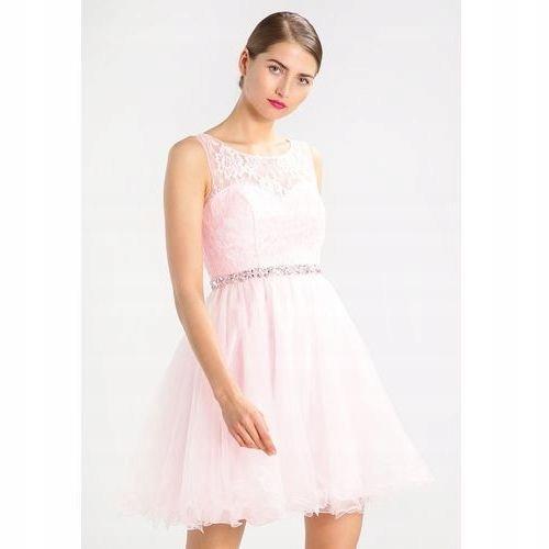 LAONA sukienka tiul zdobienia koronka xs 34 36