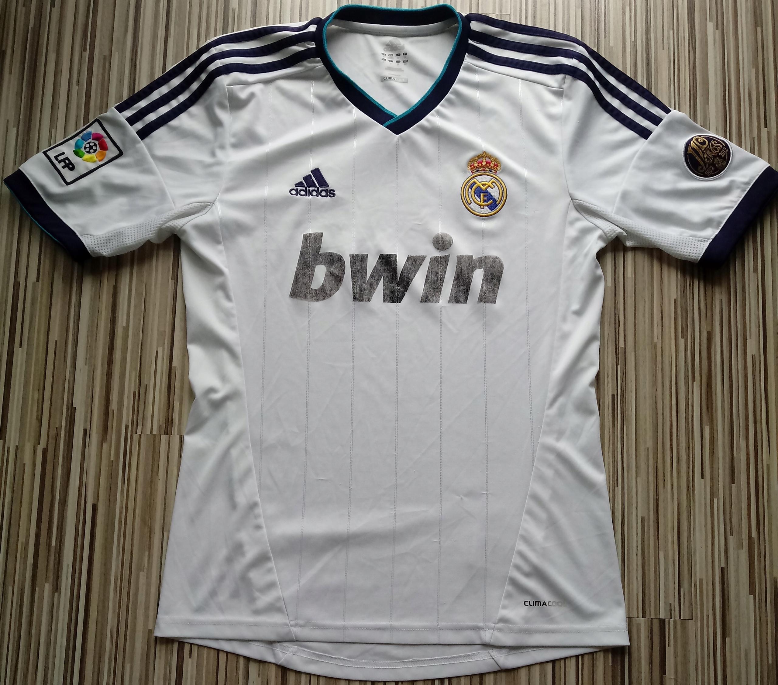 Koszulka Adidas Real Madryt sezon 12/13 S