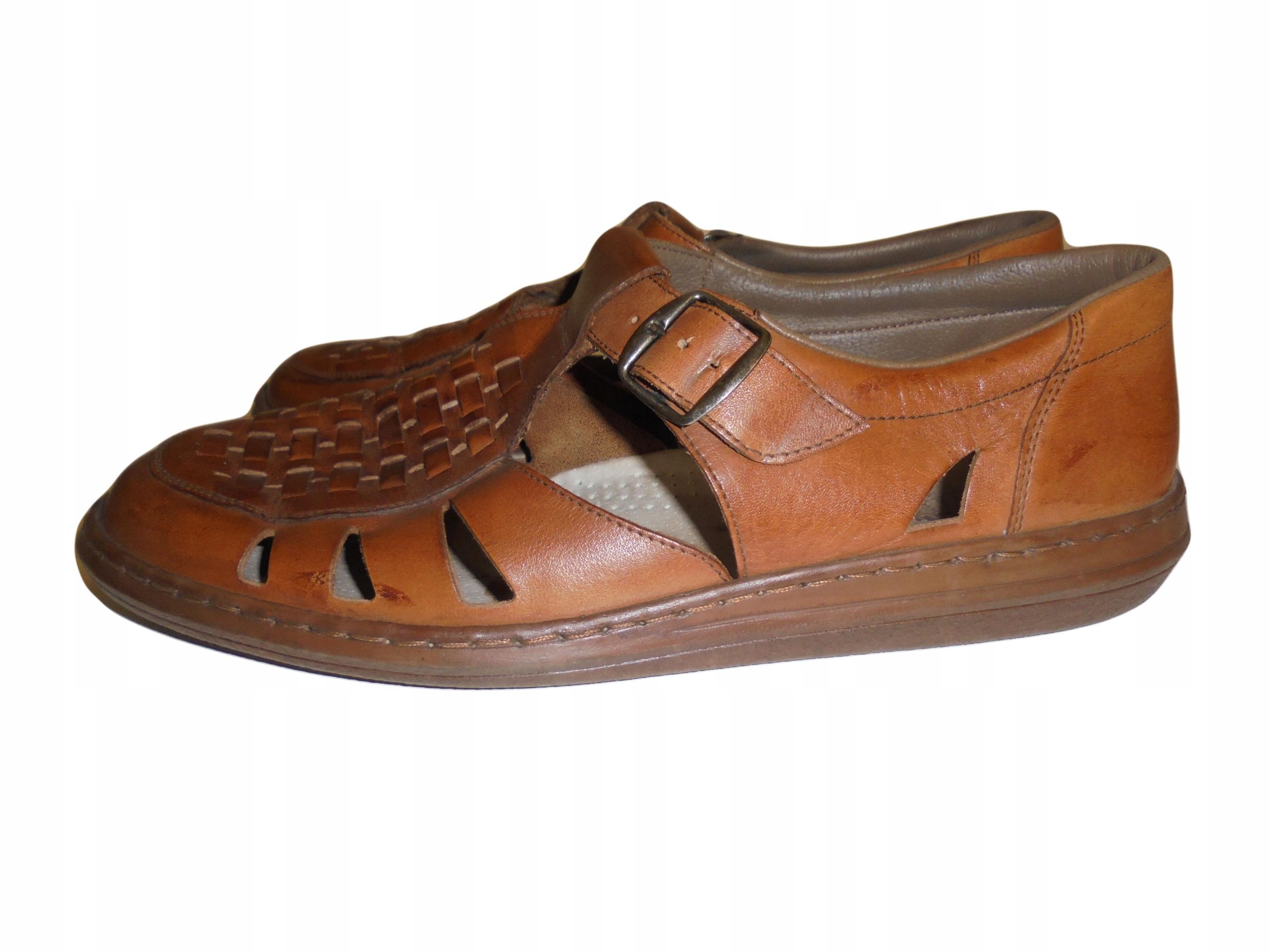 Skórzane buty Rieker. Stan idealny. Rozmiar 45.