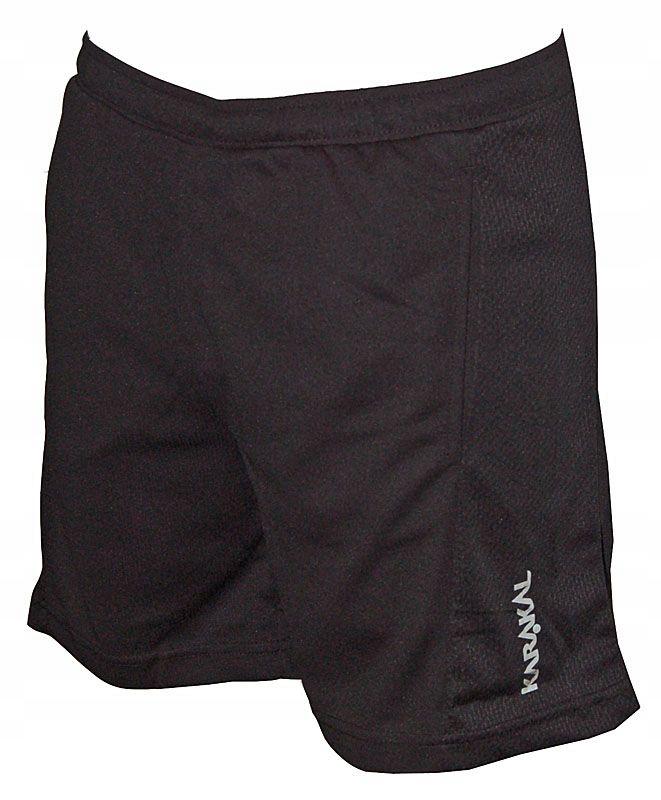 Spodenki Karakal Leon shorts | Czarny | M