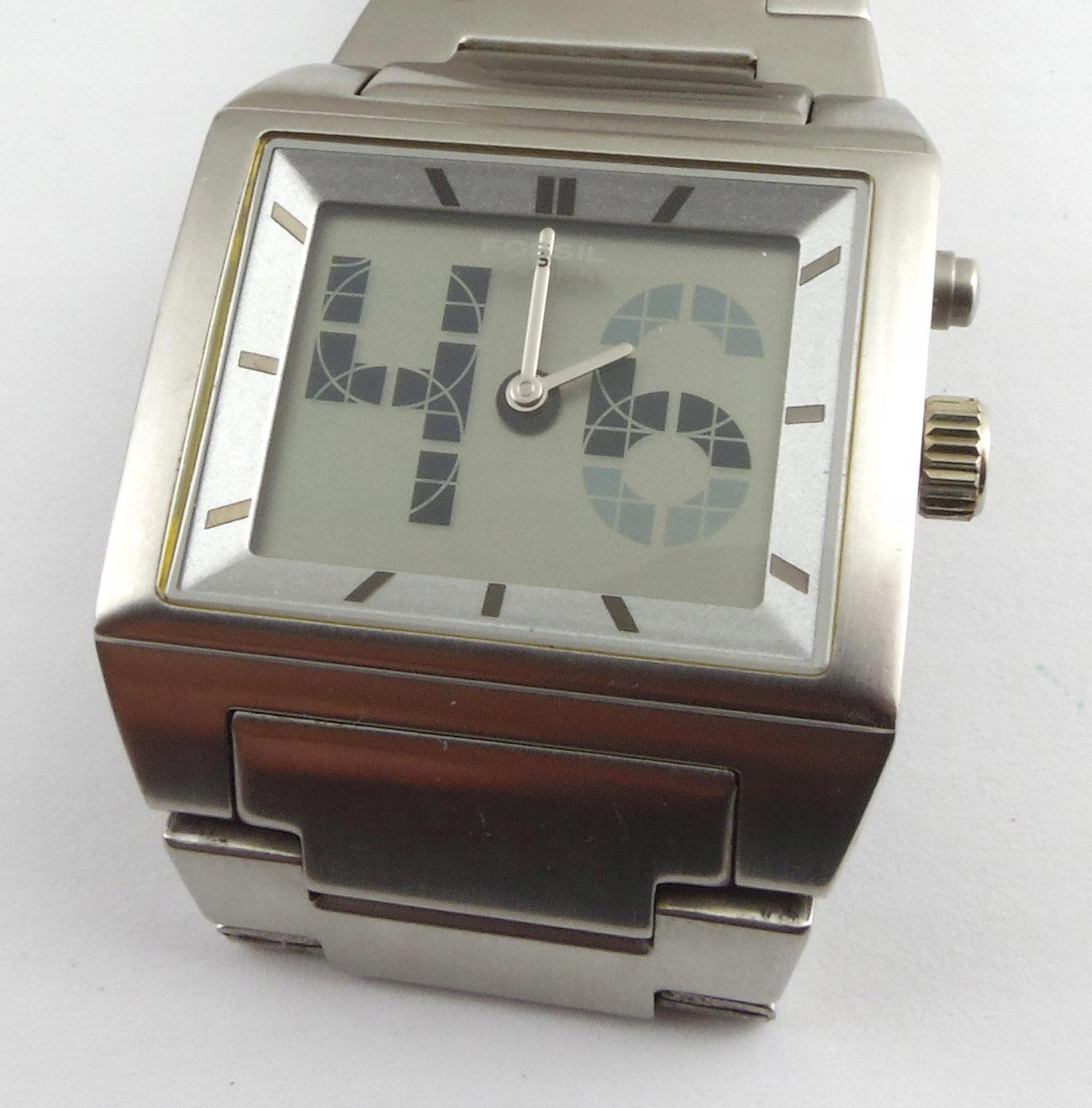 FOSSIL - zegarek używany