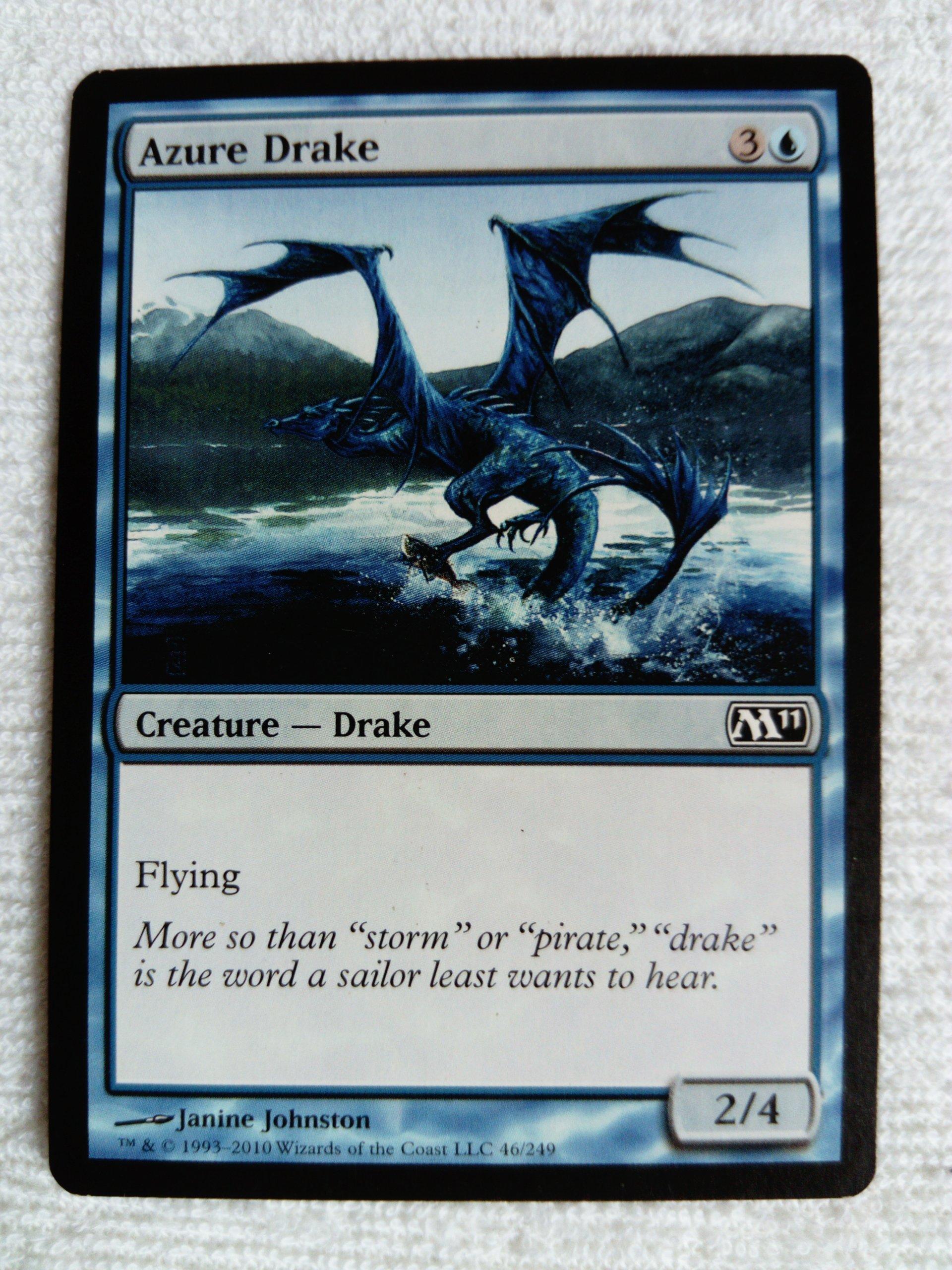 Azure Drake x3 - MTG / GRATISY