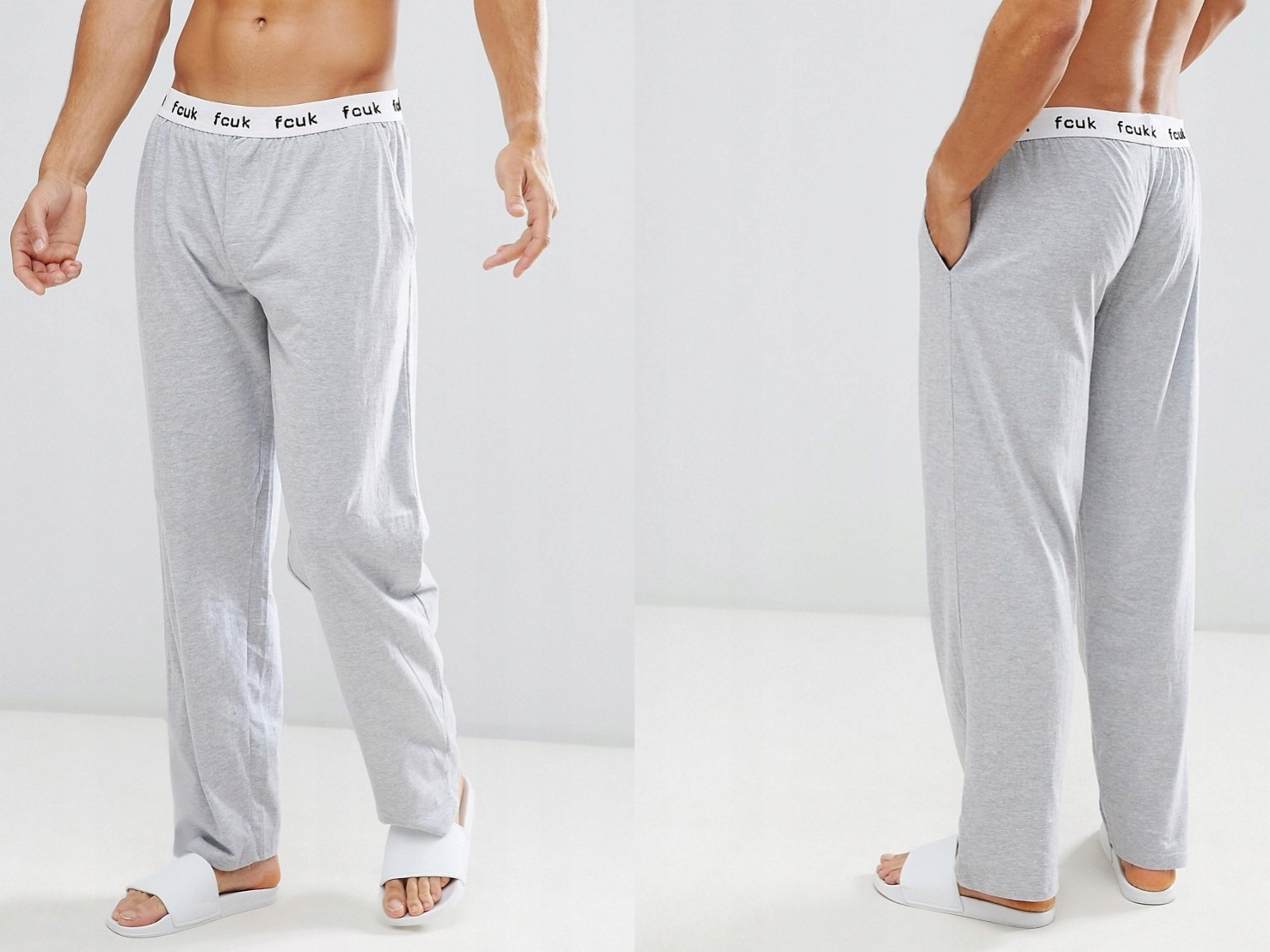French Connection - Bawełniane spodnie S
