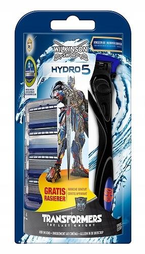 Wilkinson Hydro5 Transformers Rączka + 5 Wkładów