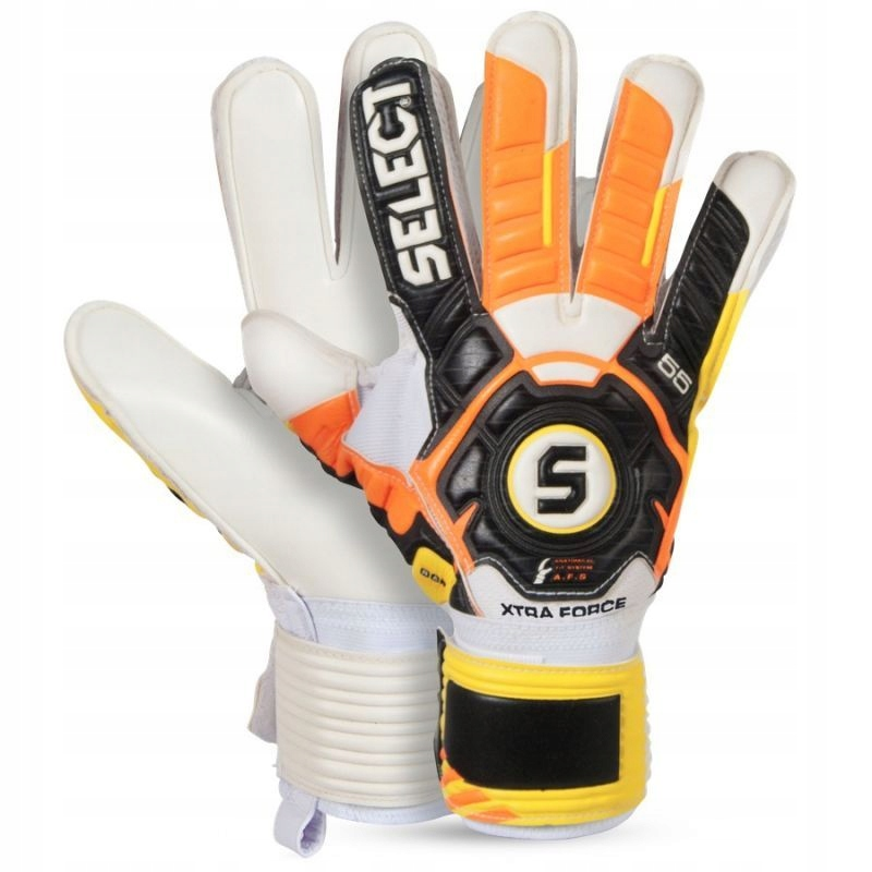 Rękawice bramkarskie Select 55 Extra Force r. 9,5