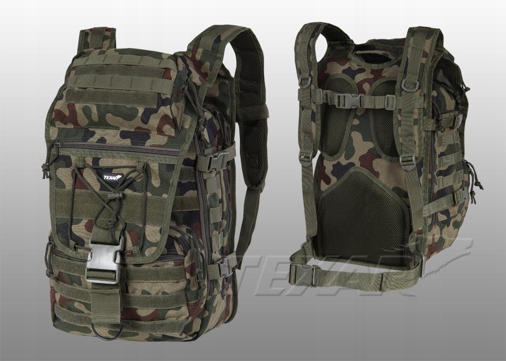 Plecak wojskowy turystyczny Traper pl camo 35l
