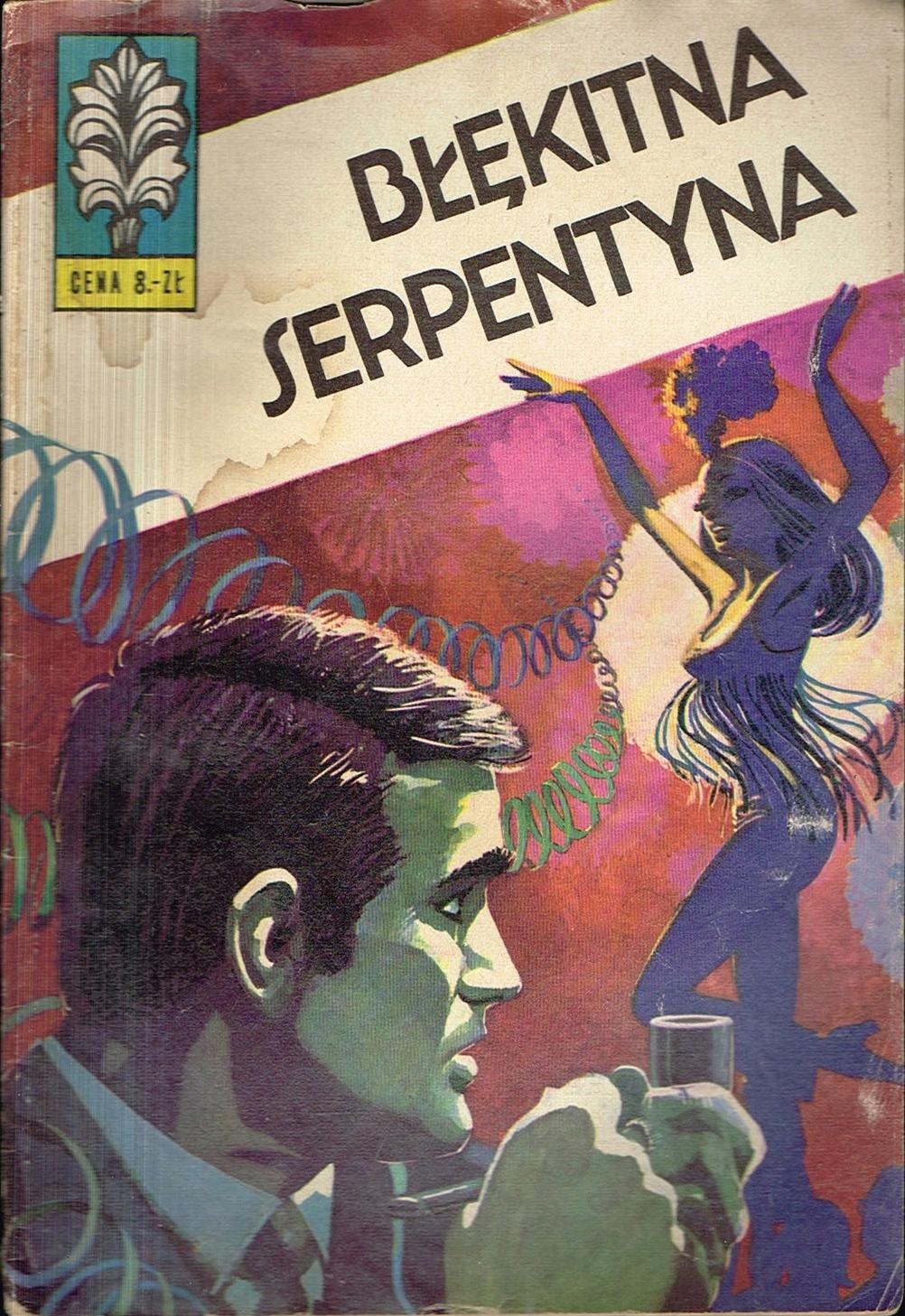 KAPITAN ŻBIK 14 Błękitna serpentyna [wyd. 2 1974]