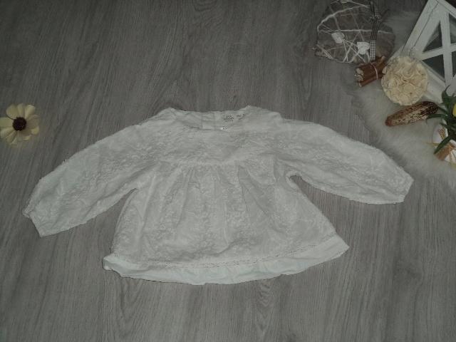 koszula zara koronka haft 80