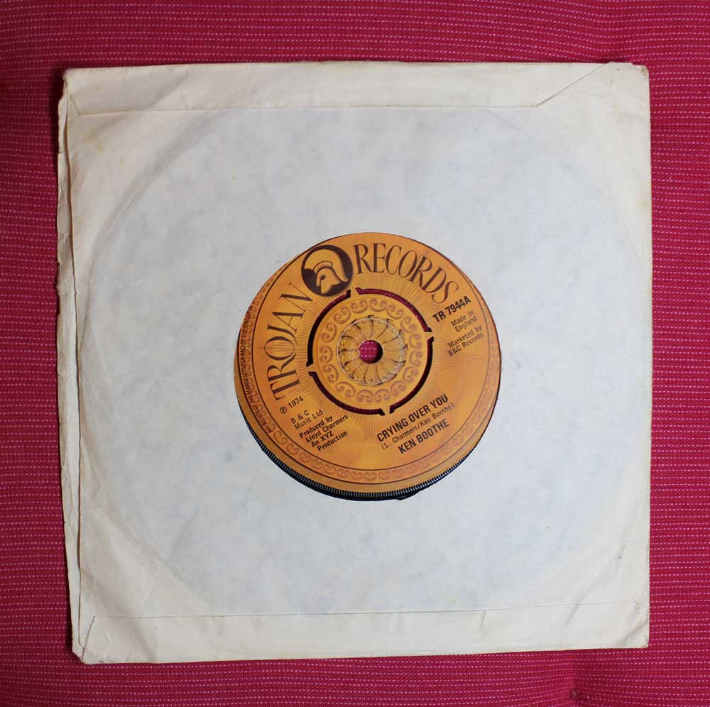 Ken Boothe - Crying Over You TROJAN 1974