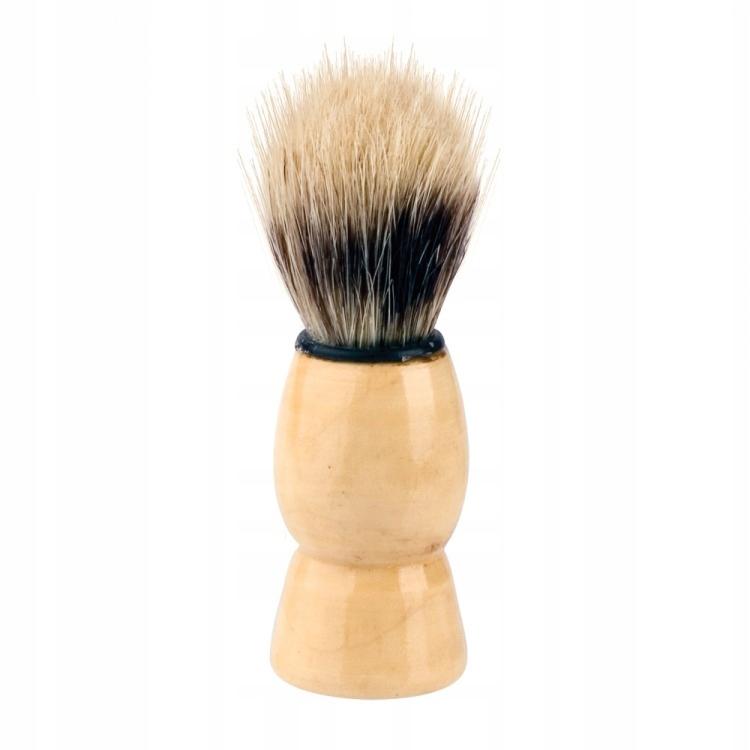 Pędzel do golenia z naturalnego włosia dzika K1870