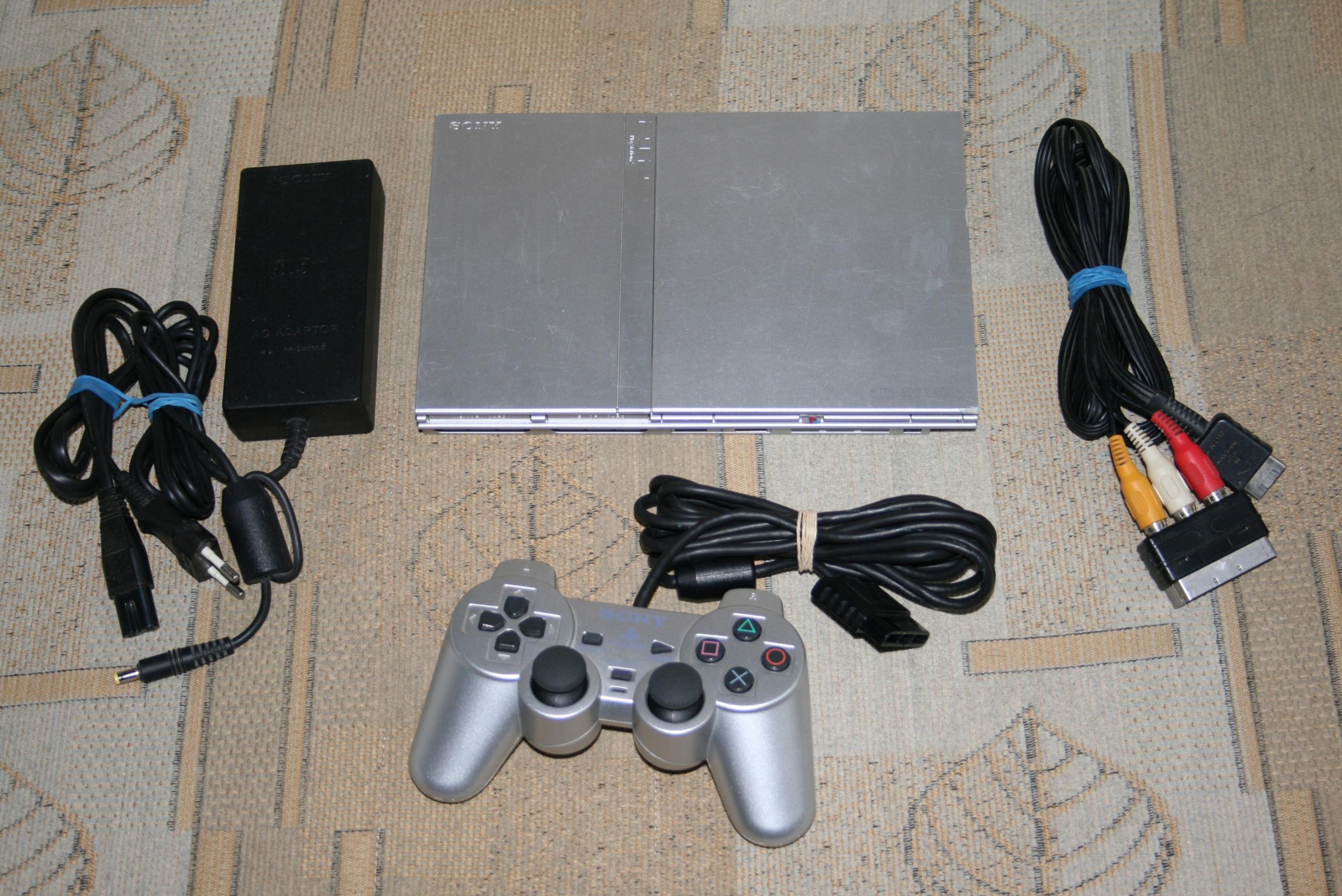 Konsola Sony PlayStation 2 PS2 PRZEROBIONA MODBO