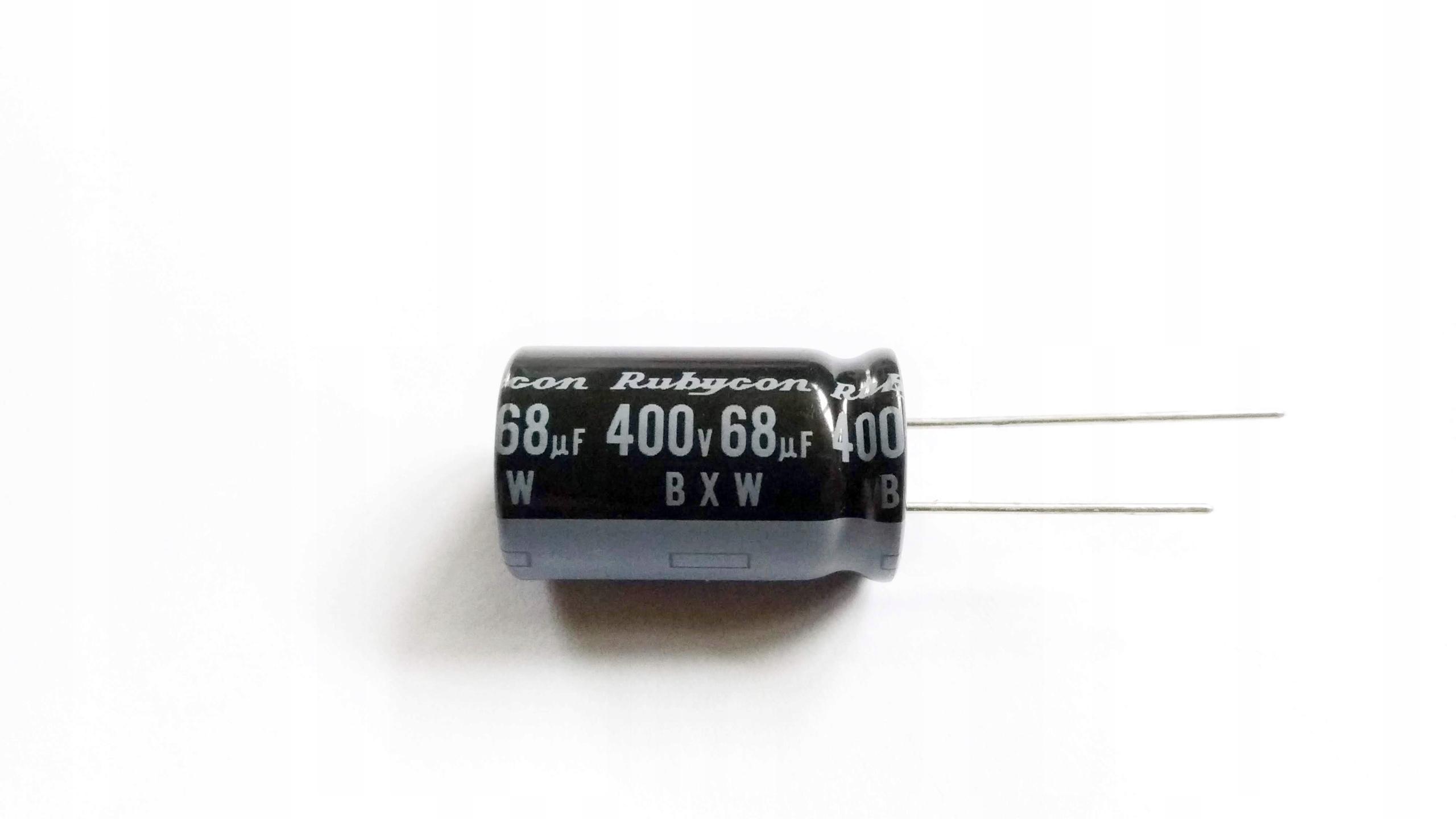 Kondensator 68uF 400V 105C - 5 szt.