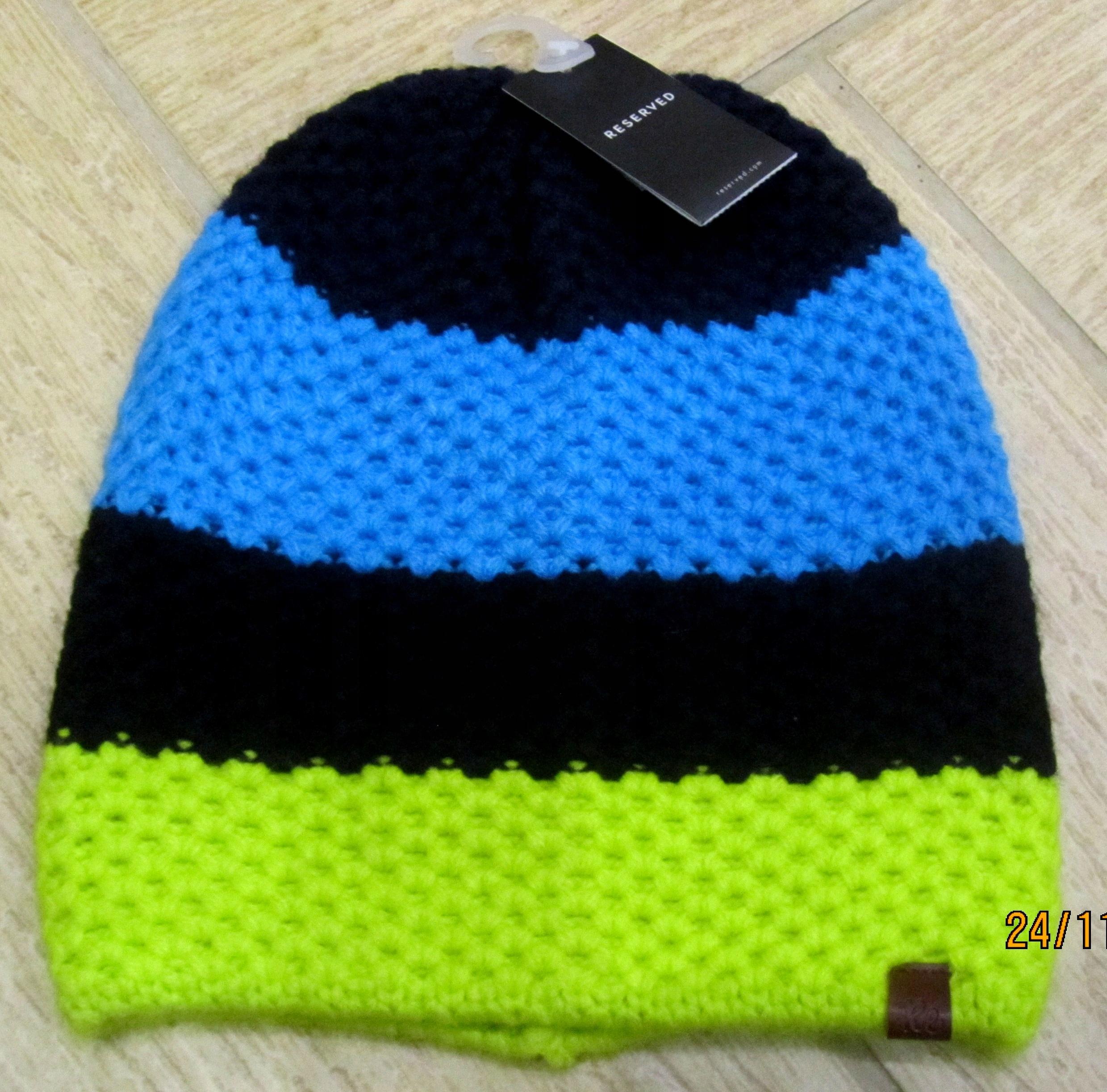 Nowa czapka jesień/zima Reserved 54/56cm L