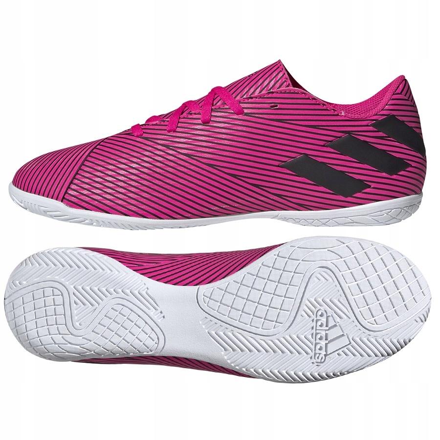Buty adidas Nemeziz 19.4 IN F34527 różowy 46!