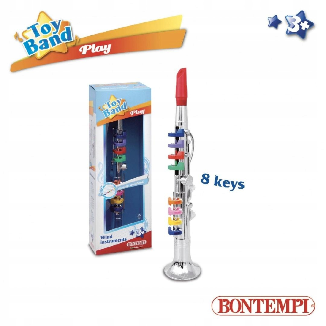 BONTEMPI Play Klarnet 8 klawiszy