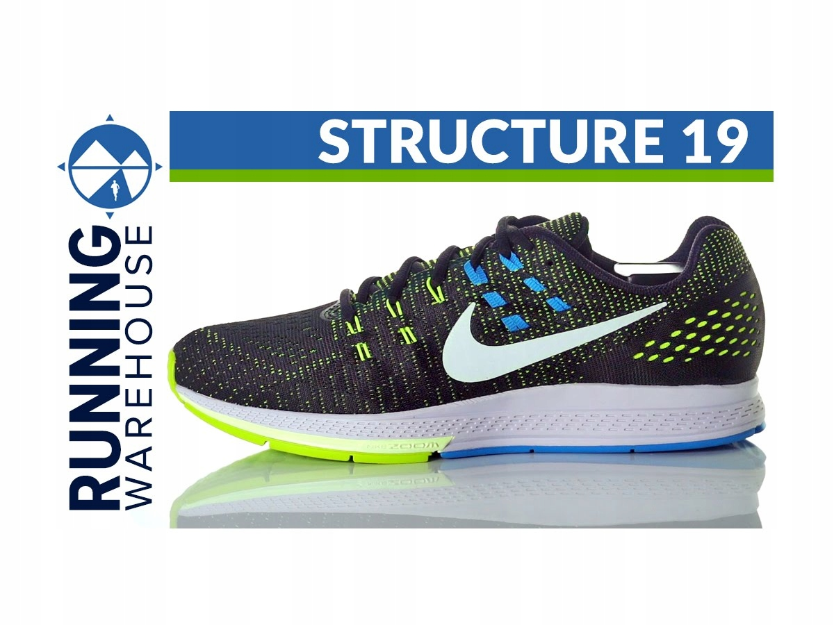 uk availability 4c049 75978 Nike zoom structure 19 / r. 44 OKAZJA! 50% taniej ...