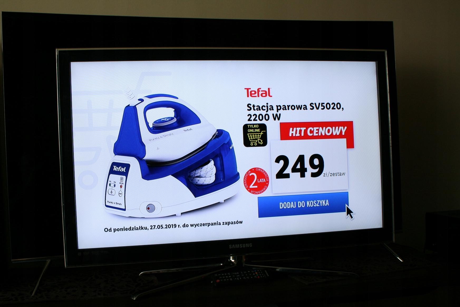 Telewizor Samsung 40 Led TV WYSOKI model LAN