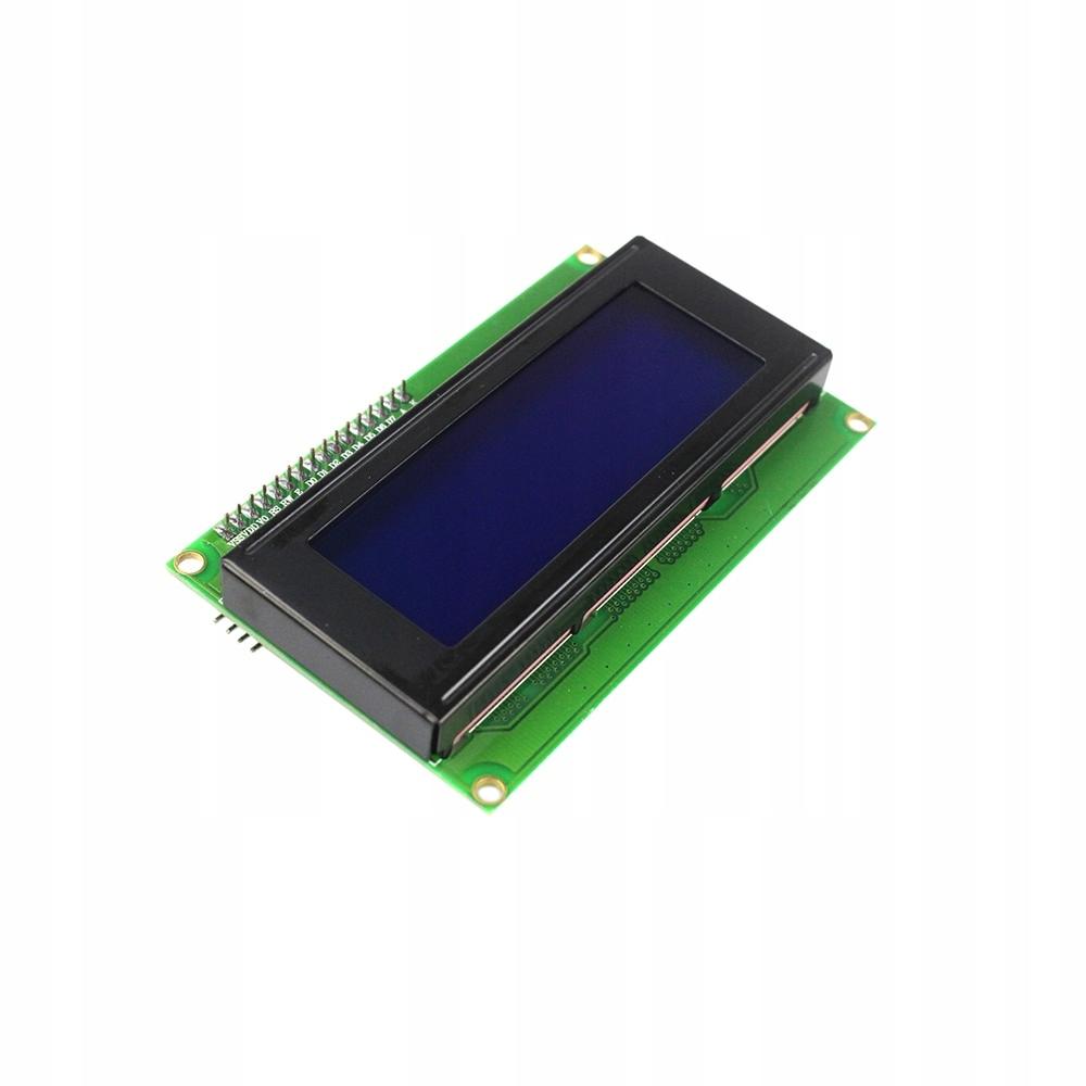 arduino wyświetlacz LCD 4x20 2004 + I2C dolutowany