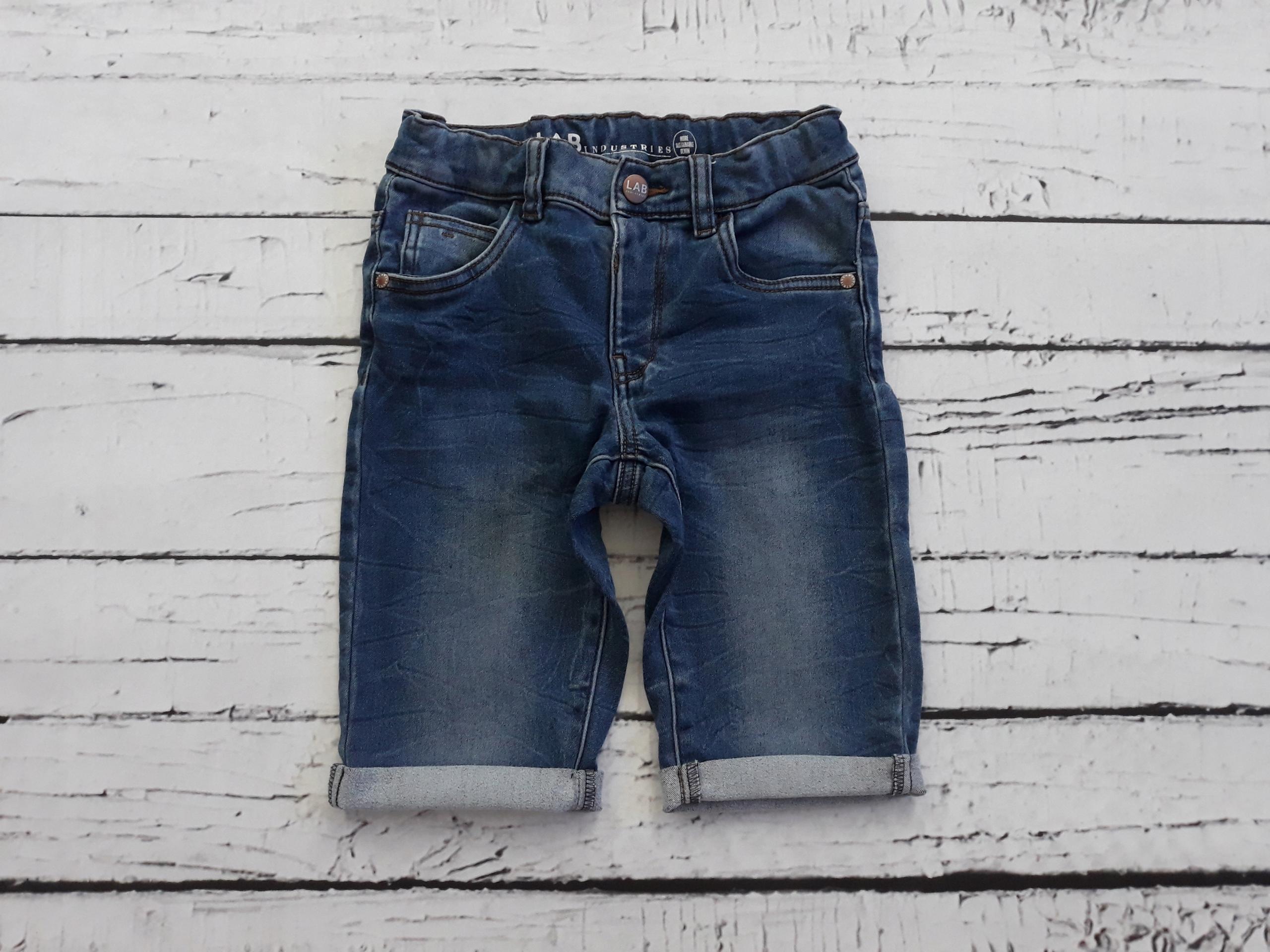 KappAhl jeansowe krotkie spodeki szorty 128