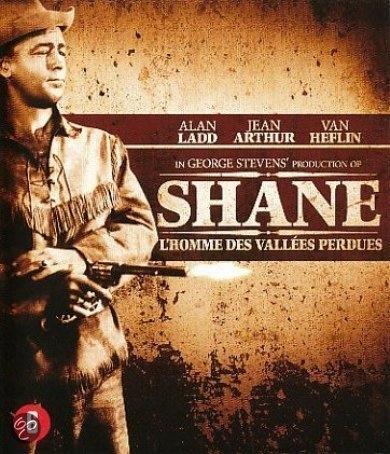 BLU-RAY Movie - Shane Bilingual /Cast: Alan Ladd,