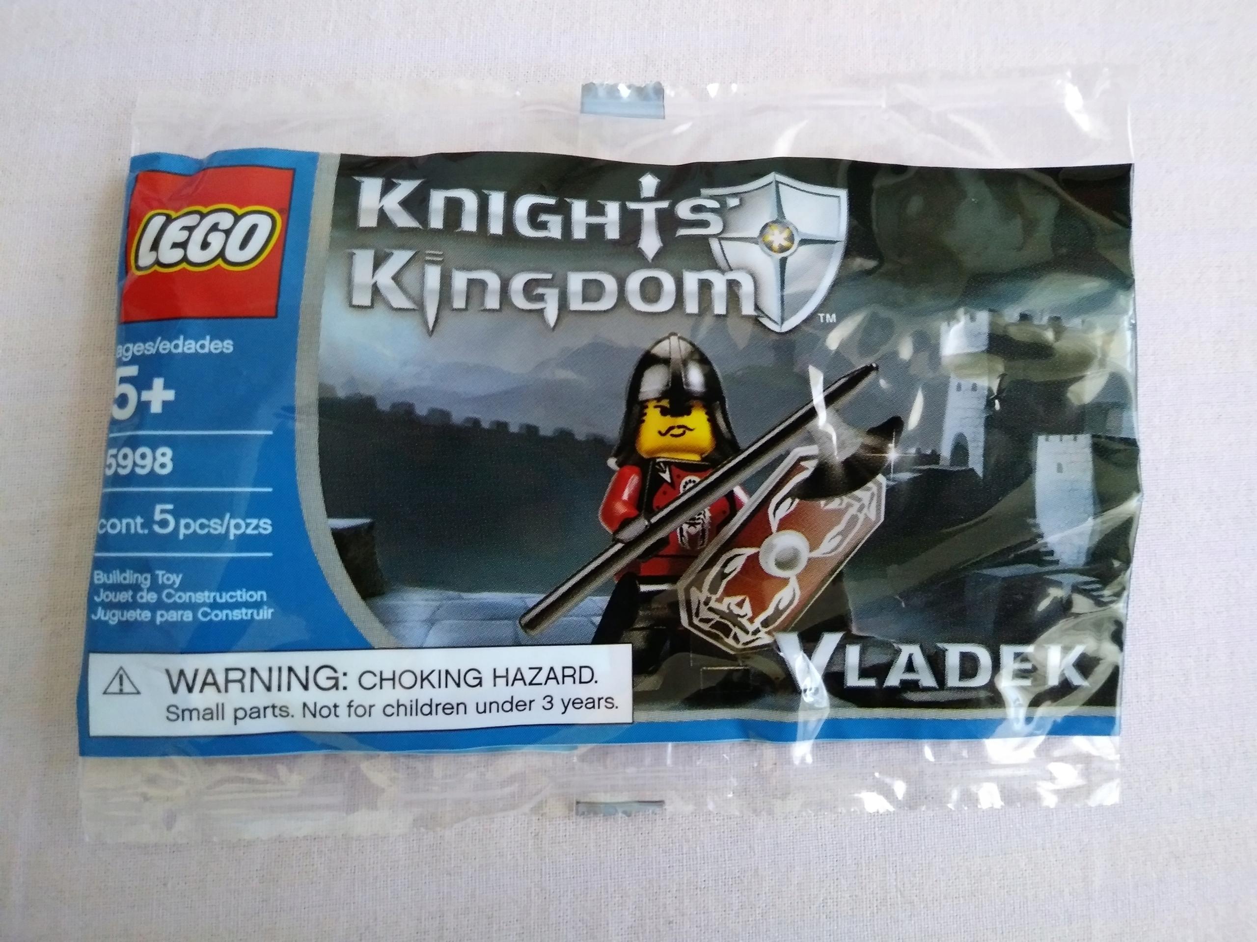Lego 5998 - Knights Kingdom II - Vladek - UNIKAT