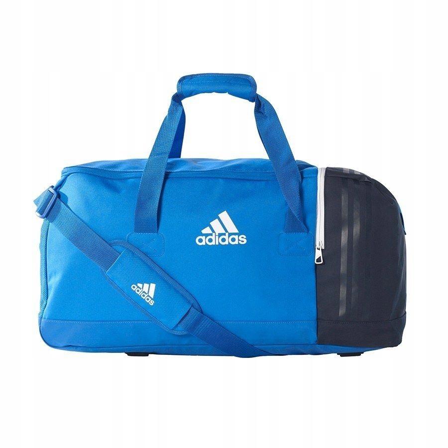 Torba adidas Tiro niebieska 27x60x29cm