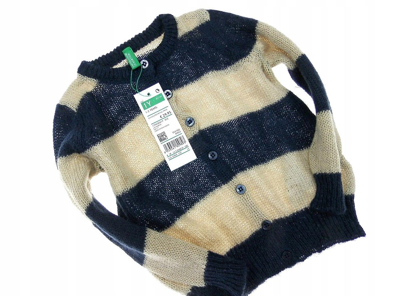 benetton nowy śliczny sweterek _ 1 80