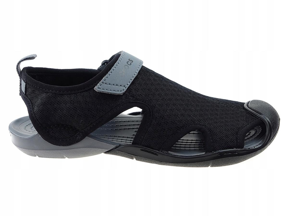 Sandały Crocs Swiftwater Mesh 204597 czarne 37/38