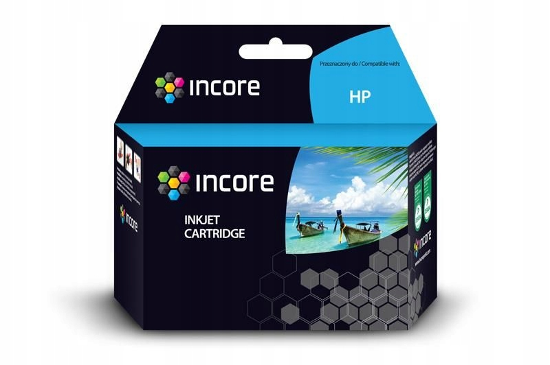 Tusz INCORE do Hp 300XL (CC644EE) Color 16ml reg.