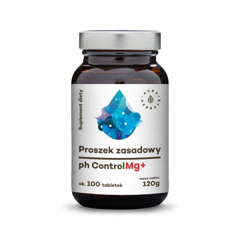 AURA HERBALS Proszek zasadowy - tabletki - pH Cont