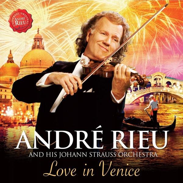 CD+DVD Andre Rieu Love In Venice