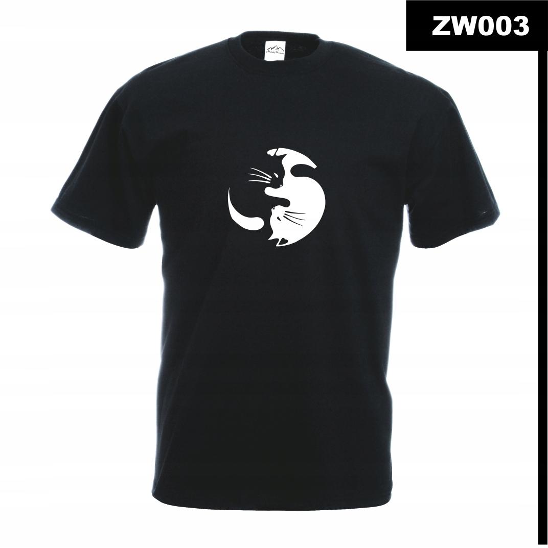 Koszulka z nadrukiem MÓJ KOT KOCIAK CAT ZW003M CXX