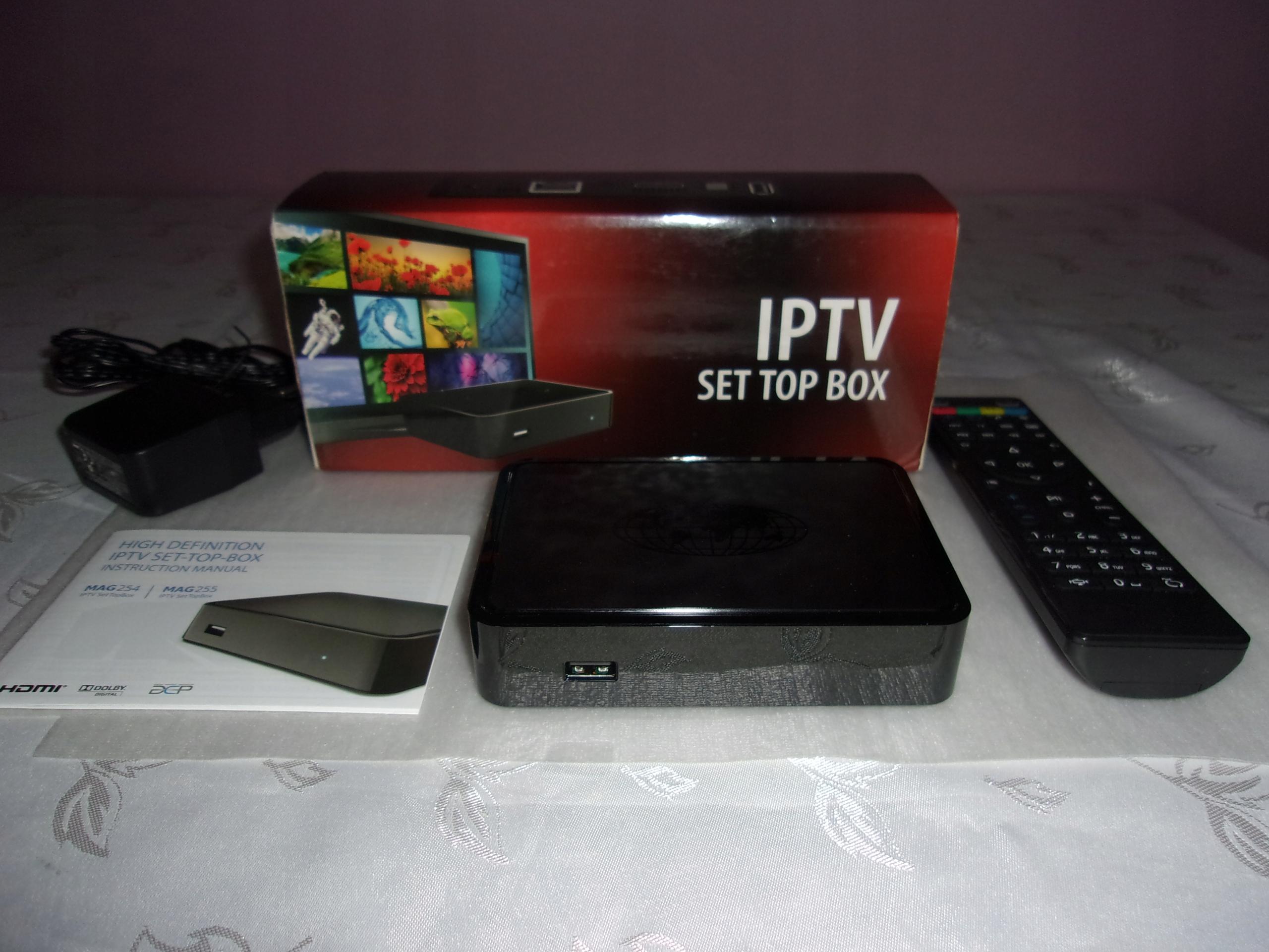 MAG 254 HD IM INFOMIR IPTV SET TOP BOX TV INTERNET - 7858102011