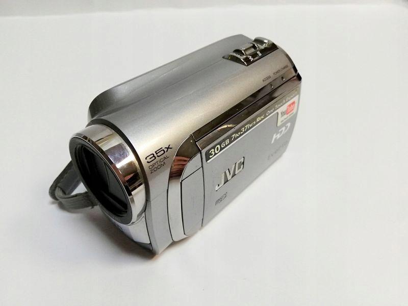 KAMERA CYFROWA JVC GZ-MG610SE