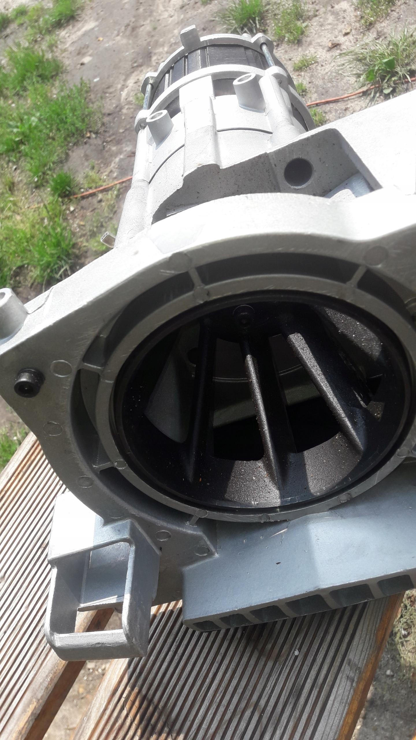 Bosch axt 25 ct turbina przekłądnia