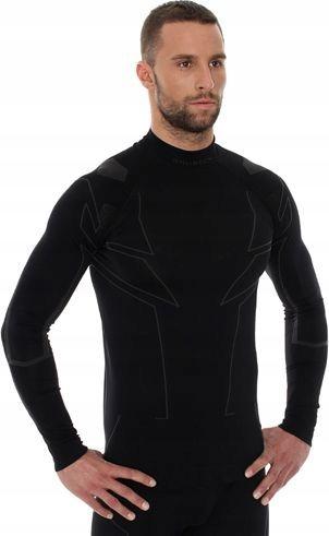 Brubeck Bluza Cooler z długim rękawem czarna r. S