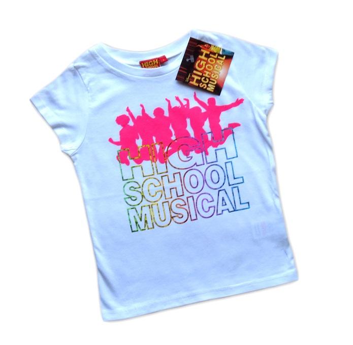 T-SHIRT BLUZKA KOSZULKA HIGH SCHOOL MUSICAL 110