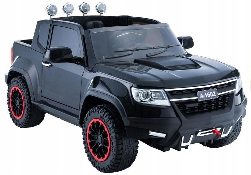 Auto na Akumulator Jeep Czarny ABL-1602 skóra ln