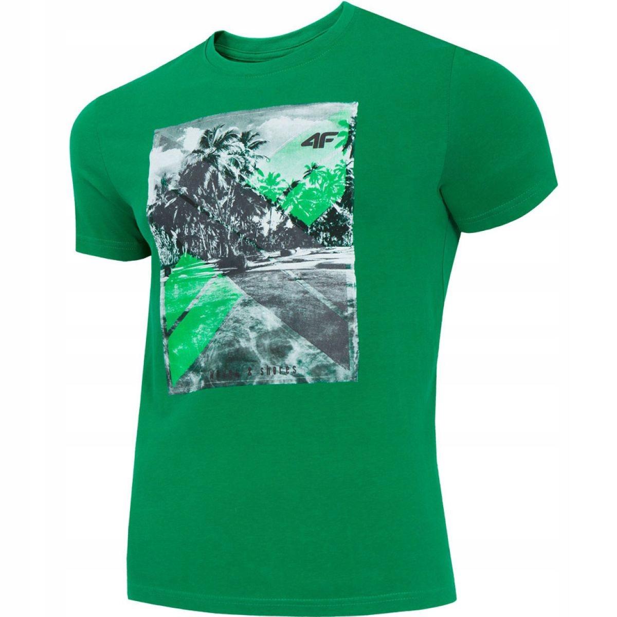 Koszulka 4f M H4L19-TSM025A 41S zielony 2XL