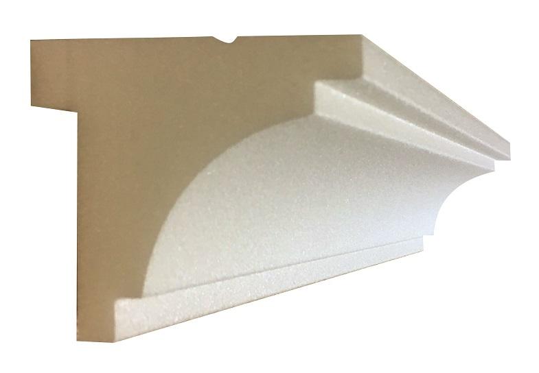 Listwa karniszowa maskownica H=9cm XPS cena za 2m