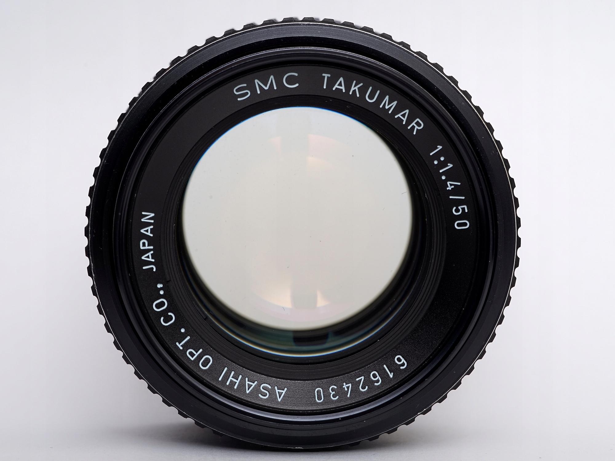 Obiektyw SMC TAKUMAR 50mm f1 4 M42 - 7927823435 - oficjalne