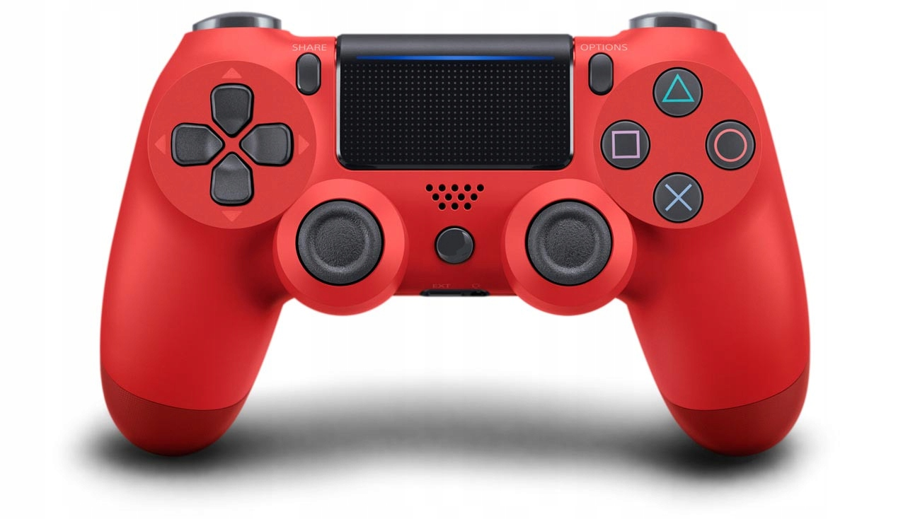 Pad Ps4 v2 jak Sony DualShock Czerwony 1000mAh