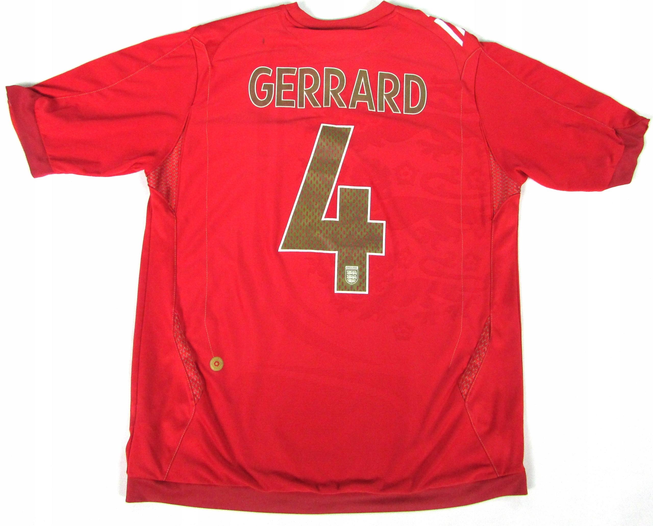 ANGLIA__Oficjalna koszulka_STEVEN GERRARD__2006-08