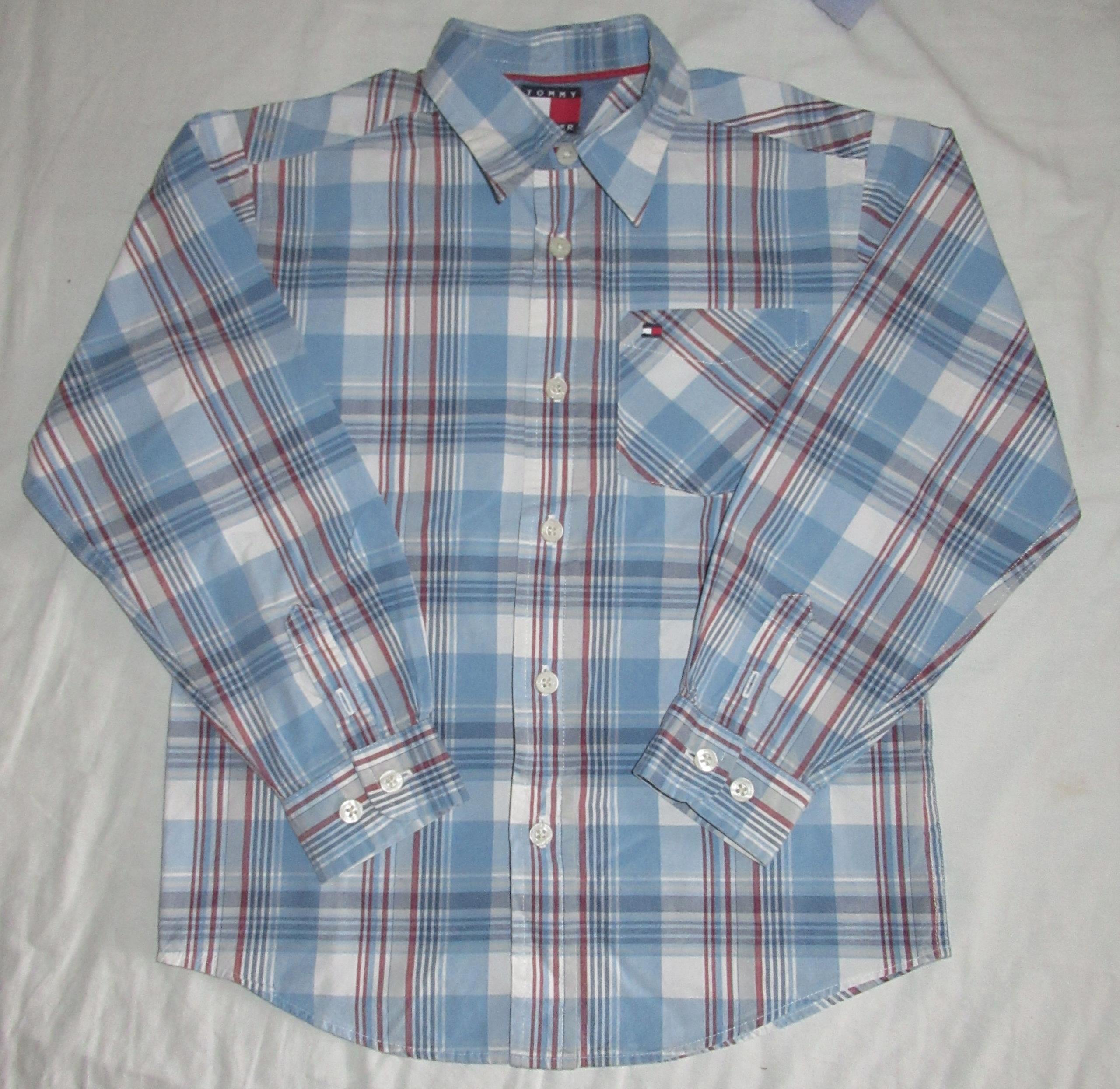 Koszula chłopięca Tommy Hilfiger rozmiar 122 cm