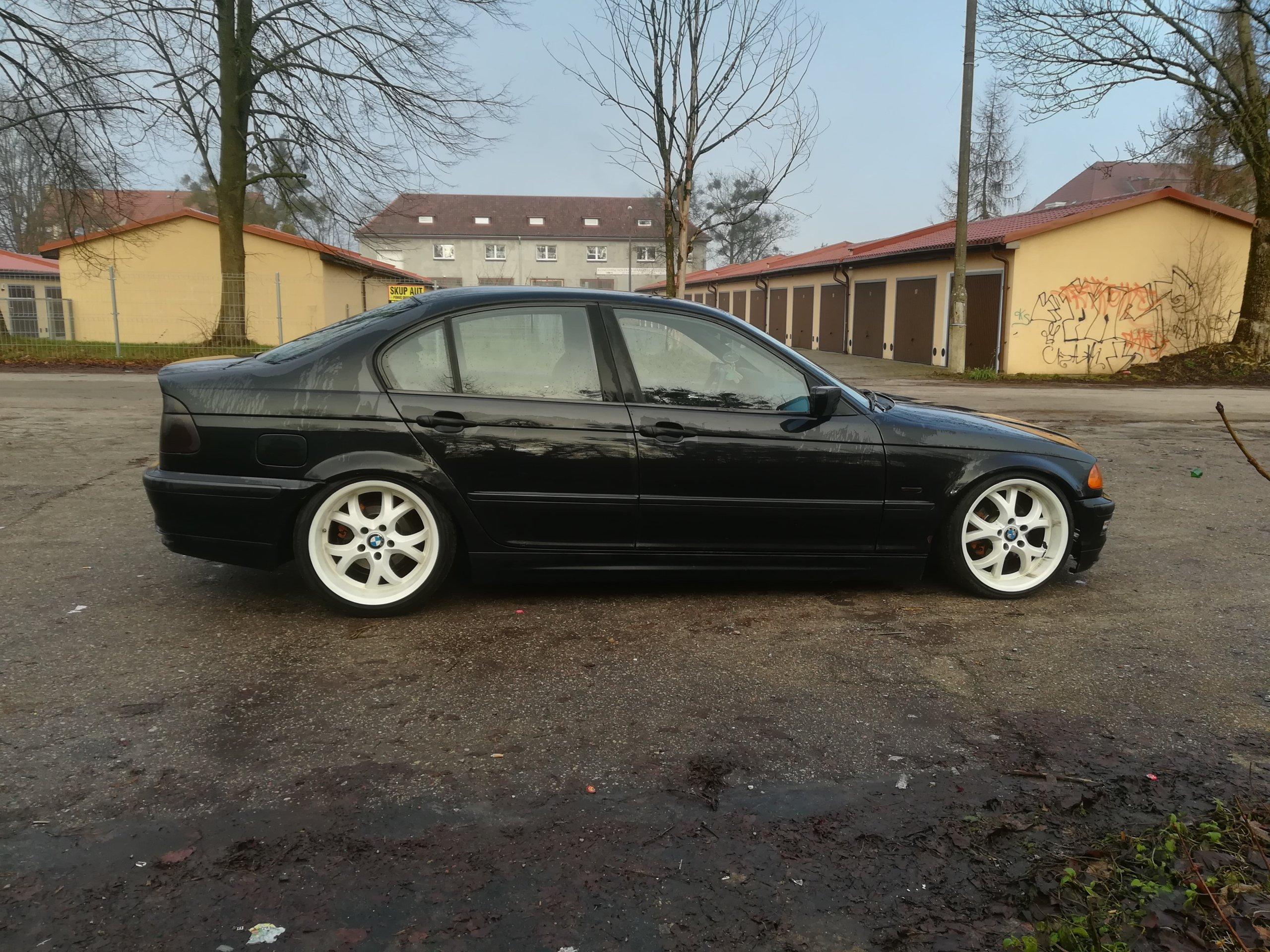 Bmw E46 320d 18 Gwint Przelot German Style 7193420856 Oficjalne